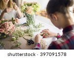 Girl Mastering A Boutonniere O...