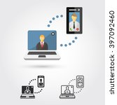 business communication icon   Shutterstock .eps vector #397092460