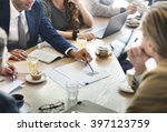 business corporate management... | Shutterstock . vector #397123759