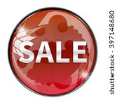 sale button isolated | Shutterstock . vector #397148680
