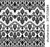 seamless lace pattern  flower... | Shutterstock .eps vector #397153684