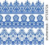 vector set with baroque... | Shutterstock .eps vector #397153726