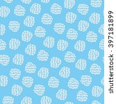 seamless hand drawn pattern | Shutterstock .eps vector #397181899