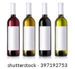 Wine Bottle In Glass Bottle...