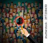 concept of terrorism. terrorism ... | Shutterstock .eps vector #397208650