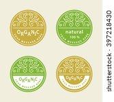 abstract logo design template....   Shutterstock .eps vector #397218430