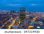 Stock photo buildings in downtown boston massachusetts usa 397219930