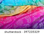 the colors of the rainbow bands ... | Shutterstock . vector #397235329