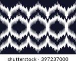 geometric ethnic oriental ikat... | Shutterstock .eps vector #397237000