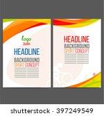 abstract vector template design ... | Shutterstock .eps vector #397249549