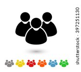 user group icon | Shutterstock .eps vector #397251130