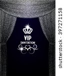 vip invitation card with... | Shutterstock .eps vector #397271158