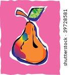 pear | Shutterstock .eps vector #39728581