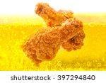 Chicken Deep Frying In Oil