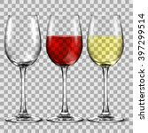 with wine glass | Shutterstock .eps vector #397299514