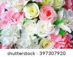 fake flowers. | Shutterstock . vector #397307920