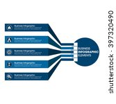 business infographics vector...   Shutterstock .eps vector #397320490