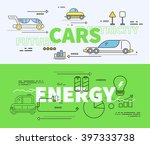 car of future energy... | Shutterstock . vector #397333738