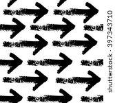 grunge arrow pattern  | Shutterstock .eps vector #397343710
