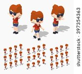 Cartoon Redhead Girl Minifigure....