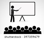 training and presentation ... | Shutterstock .eps vector #397359679