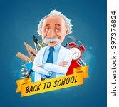 teacher | Shutterstock .eps vector #397376824