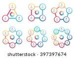 circular infographics. triangle ...   Shutterstock .eps vector #397397674