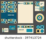 corporate identity for company...   Shutterstock .eps vector #397413724