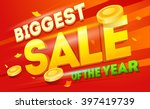 big sale banner. sale and...   Shutterstock .eps vector #397419739