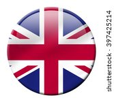uk flag icon isolated on white... | Shutterstock . vector #397425214