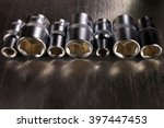Set Of Stainless Steel Hex...