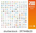 usable business icons | Shutterstock .eps vector #397448620