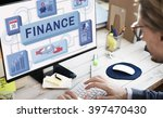 finance money management... | Shutterstock . vector #397470430