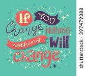 hand drawn typography...   Shutterstock .eps vector #397479388