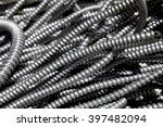 scrap metal electrical flex... | Shutterstock . vector #397482094