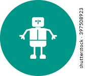 robot | Shutterstock .eps vector #397508923
