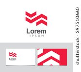 logo design elements with... | Shutterstock .eps vector #397510660