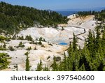 Bumpass Hell is the largest hydrothermal site in Mt. Lassen park. It