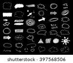 drawing design elements.... | Shutterstock .eps vector #397568506