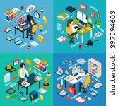 creative professionals... | Shutterstock .eps vector #397594603