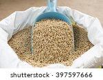 Animal Feed And Shovel