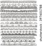 hand drawn doodle vector... | Shutterstock .eps vector #397601788