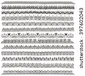 hand drawn doodle vector... | Shutterstock .eps vector #397602043