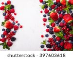 Various Fresh Summer Berries....
