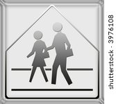 warning   danger road signs in... | Shutterstock . vector #3976108