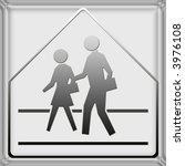 warning   danger road signs in... | Shutterstock . vector #3976108
