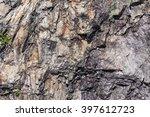 closeup of a sedimentary... | Shutterstock . vector #397612723