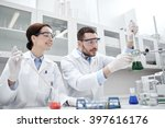 science  chemistry  biology ... | Shutterstock . vector #397616176