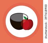 fruits icon design  vector...   Shutterstock .eps vector #397618900