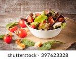 Fresh Salad Made Of Tomato ...